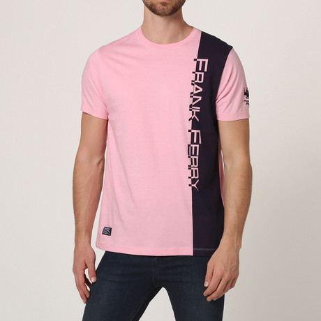 Graphic Crew T-Shirt // Pink (S)