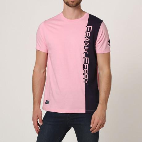 Graphic Crew T-Shirt // Pink (S)