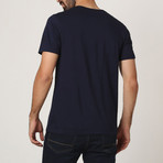 Frank Ferry T-Shirt // Navy (S)