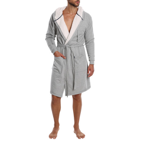 Craftsman French Terry Robe // Grey (S)