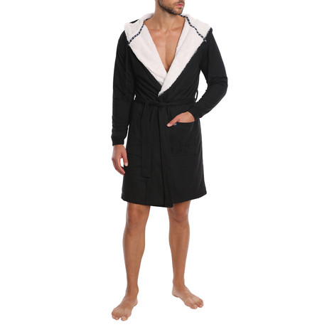 Craftsman French Terry Robe // Black (S)