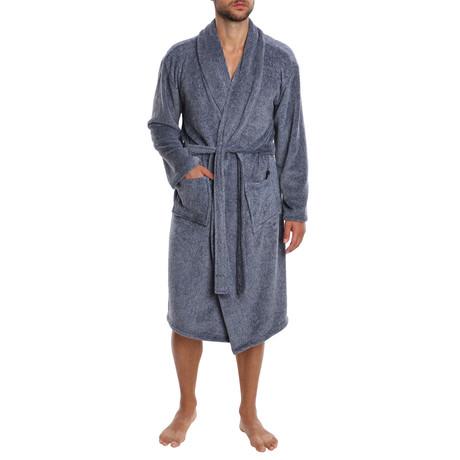 Weekender Plush Robe // Navy (S)