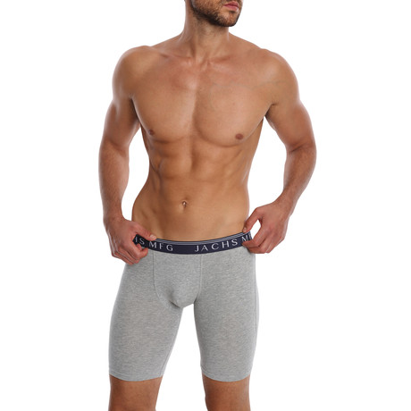 9 to 5 Boxer Brief // Black + Grey + Navy // 3 Pack (S)