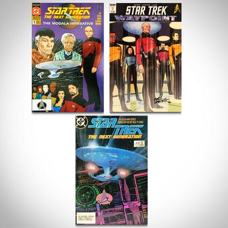 Signed Comics // Star Trek // Set of 3