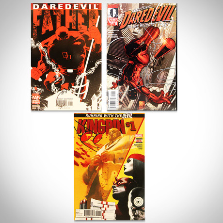 Signed Comics // Daredevil & KingPin // Set of 3