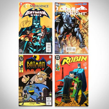 Signed Comics // Batman, Robin & Dark Knight // Set of 4