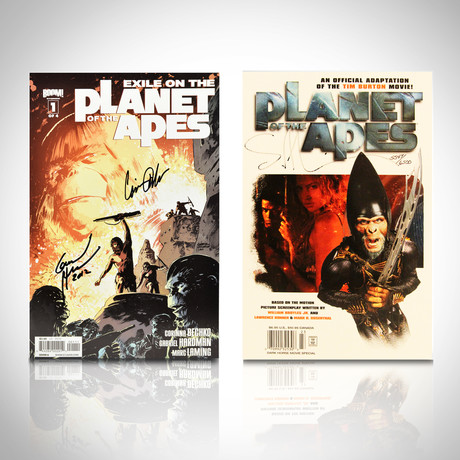 Signed Comics // Planet of the Apes // Set of 2