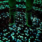 Glow-In-The-Dark Marble Stones // 3-8mm // Aqua