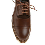 Patent Cap-Toe Derby // Brown (Euro: 40)