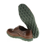 Wing-Tip Brogue Derby // Brown (Euro: 40)