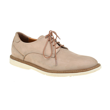 Plain-Toe Sleek Derby // Beige (Euro: 40)
