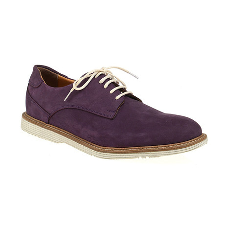 Plain-Toe Sleek Derby // Purple (Euro: 40)