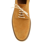 Plain-Toe Sleek Derby // Mustard (Euro: 45)