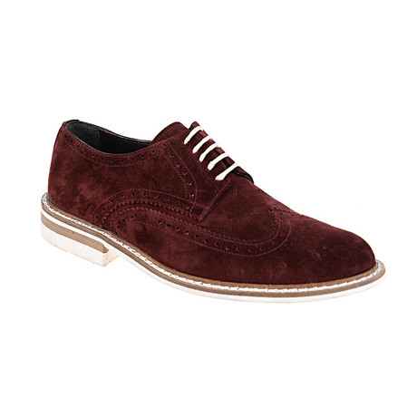 Wing-Tip Brogue Derby // Bordeaux (Euro: 40)