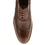 Patent Wing-Tip Oxford // Brown (Euro: 41)