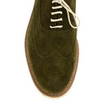Sleek Wing-Tip Brogue // Khaki (Euro: 45)
