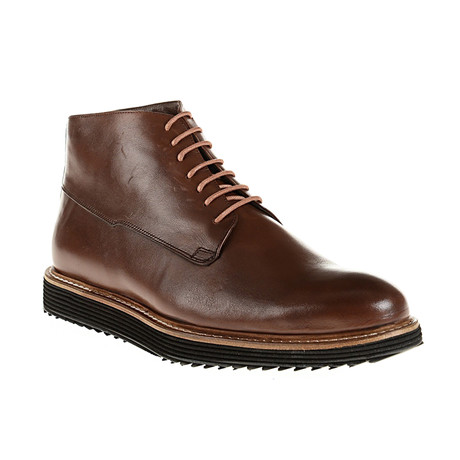 Plain-Toe Boot // Brown (Euro: 40)