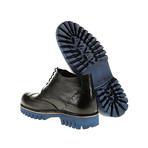 Medallion Wing-Tip Lug Boot // Black (Euro: 45)