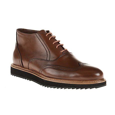 Wing-Tip Boot // Brown (Euro: 40)