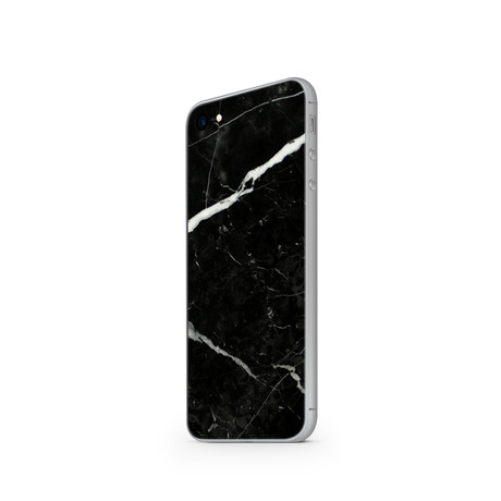 The Marble Case // Nero Marquina (Black: iPhone 7)