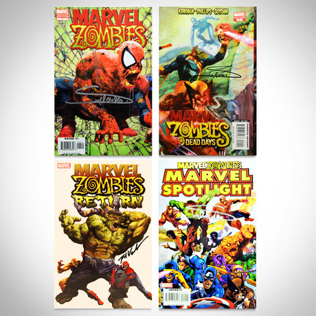 Signed Comics // Marvel Zombies // Set of 4