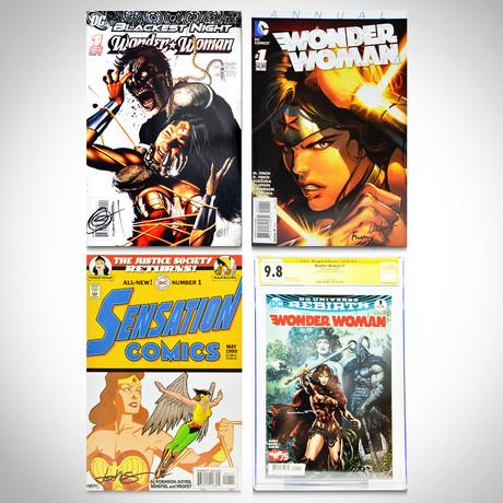 Signed Comics // Wonder Woman // Set of 4