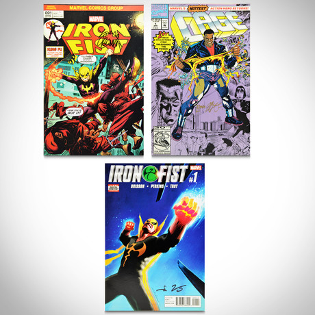 Signed Comics // Cage & Iron Fist // Set of 3
