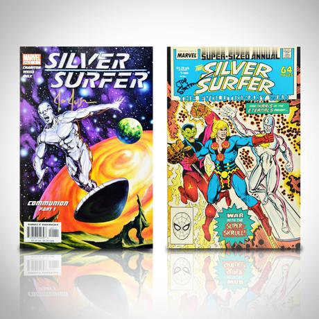 Signed Comics // Silver Surfer // Set of 2