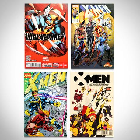 Signed Comics // X-Men & Wolverine // Set of 4