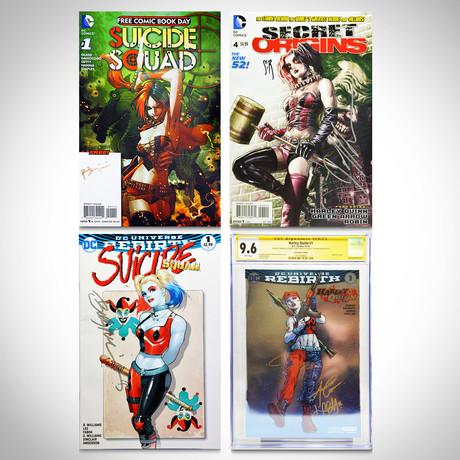 Signed Comics & CGC // Harley Quinn & Suicide Squad // Set of 4