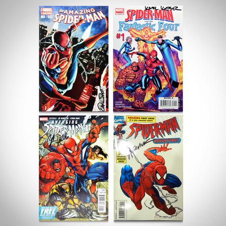 Signed Comics // Spiderman // Set of 4