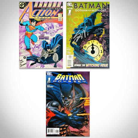 Signed Comics // Batman & Superman // Set of 3