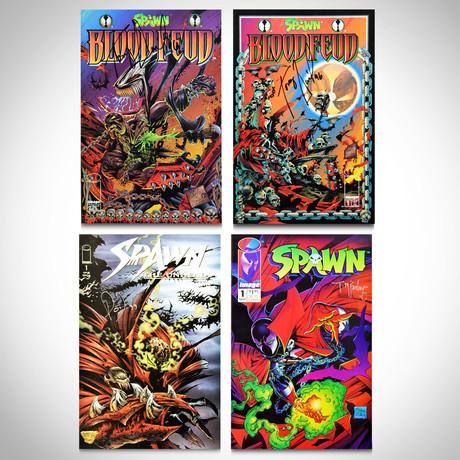 Signed Comics // Spawn // Set of 4