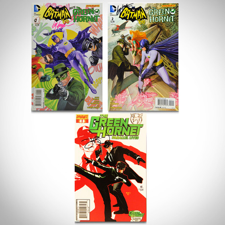Signed Comics // Batman & Green Hornet // Set of 3