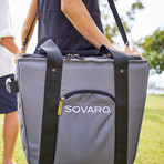 "Soft Sided Cooler // 18"" (Black)"