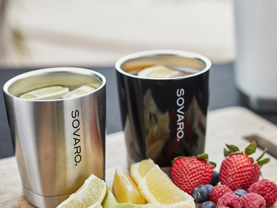 Sovaro State-Of-The-Art Coolers Lowball // 10oz (Black) by Touch Of Modern - Denver Outlet