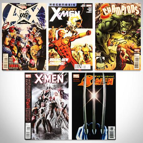 Signed Comics // X-Men, Avengers & Marvel Champions // Set of 5