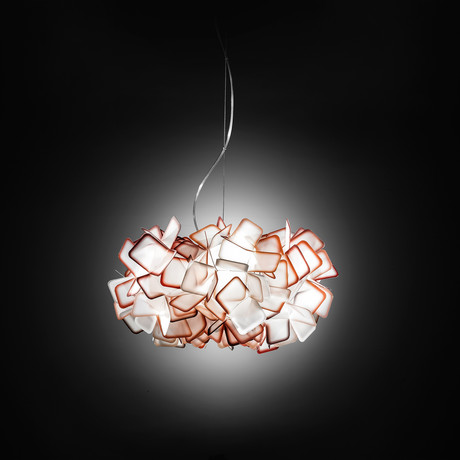Clizia Suspension Lamp (Orange)