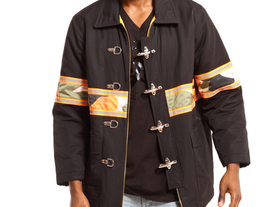 Photo of Clearance: Outerwear Warm Up With Hot Deals Harvest Fireman's Coat // Black (M) by Touch Of Modern