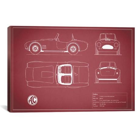 """AC Cobra Roadster (26""""W x 18""""H x .75""""D)"""