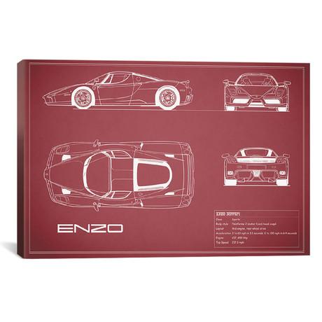 "Enzo Ferrari (26""W x 18""H x .75""D)"