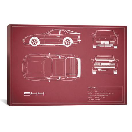 "Porsche 944 Turbo (26""W x 18""H x .75""D)"