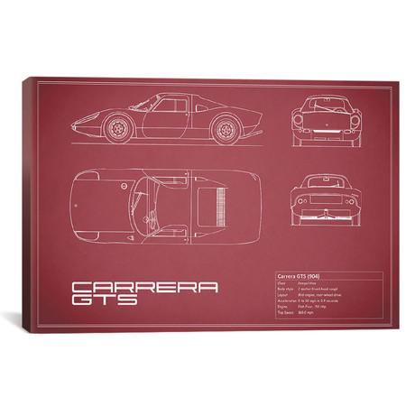 "Porsche (904) Carrera GTS (26""W x 18""H x .75""D)"