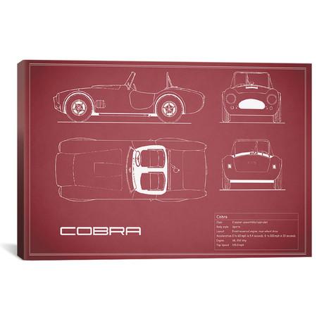 """Shelby Cobra (26""""W x 18""""H x .75""""D)"""