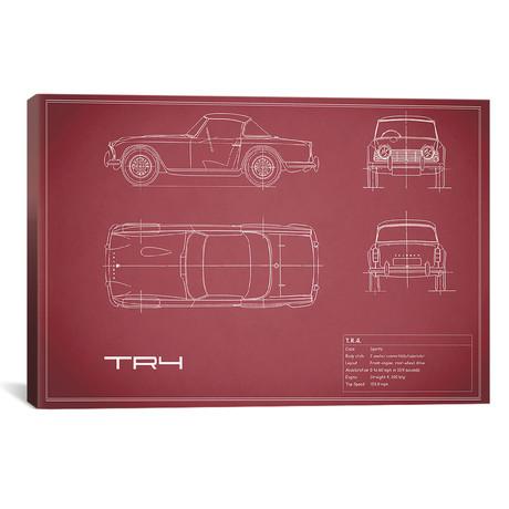 "Triumph TR4 (26""W x 18""H x .75""D)"