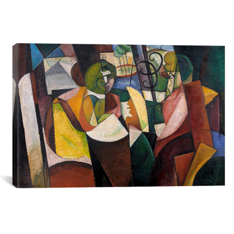 "Metzinger, Cubism and After // Albert Gleizes // 1912 (26""W x 18""H x .75""D)"