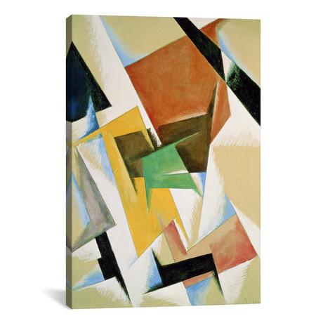 "Composition // Lyubov Popova // 1921 (40""W x 60""H x 1.5""D)"