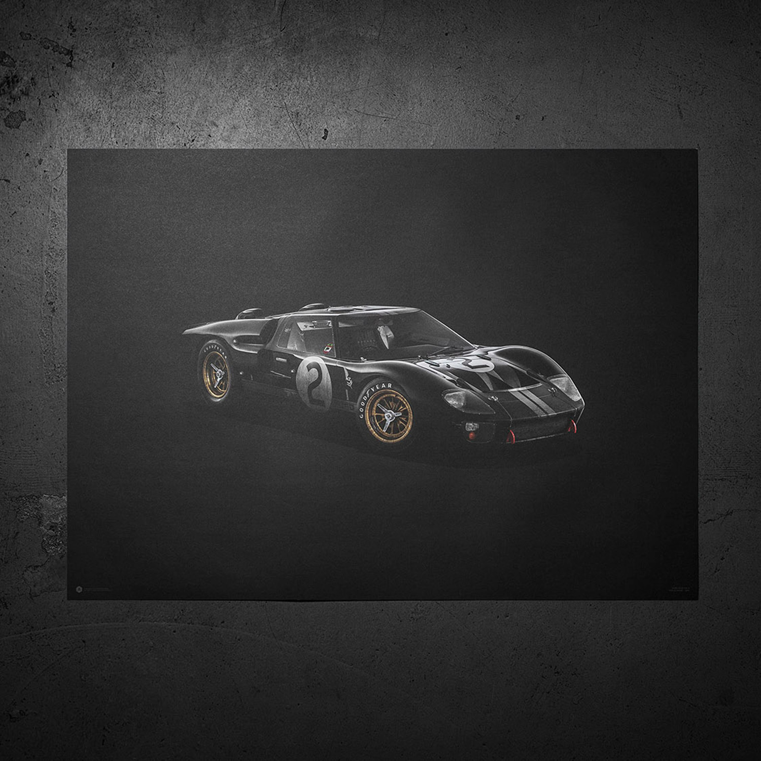 Ford Gt Colors Of Speed Black