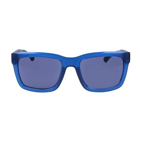 Parry Sunglass // Shiny Blue