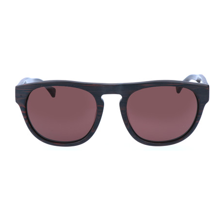 Alfed Sunglass // Red Wood